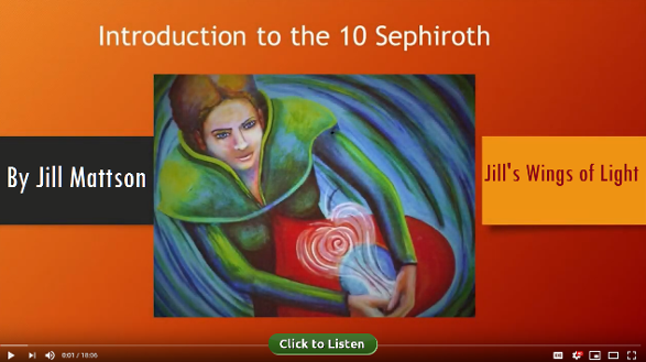 Introduction to the 10 Sephiroth by Jill Mattson