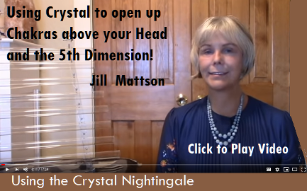 Using Crystal to Open up 5th Dimensional Chakras by Jill Mattson
