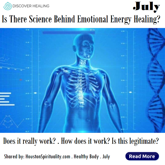 Is there science behind emotional energy healing?
