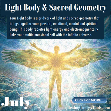 Light Body & Sacred Geometry by Healing Energy Tools