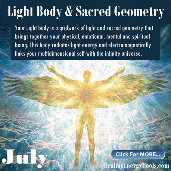 Light Body & Sacred Geometry by y Healing Energy Tools
