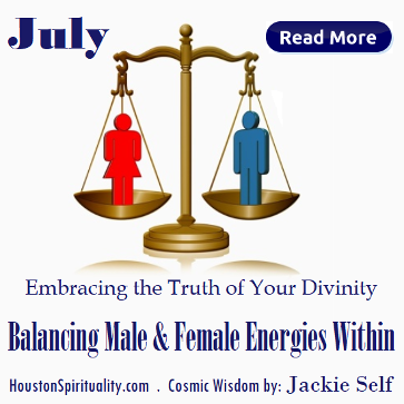Balancing Male & Female Energies Within by Jackie Self