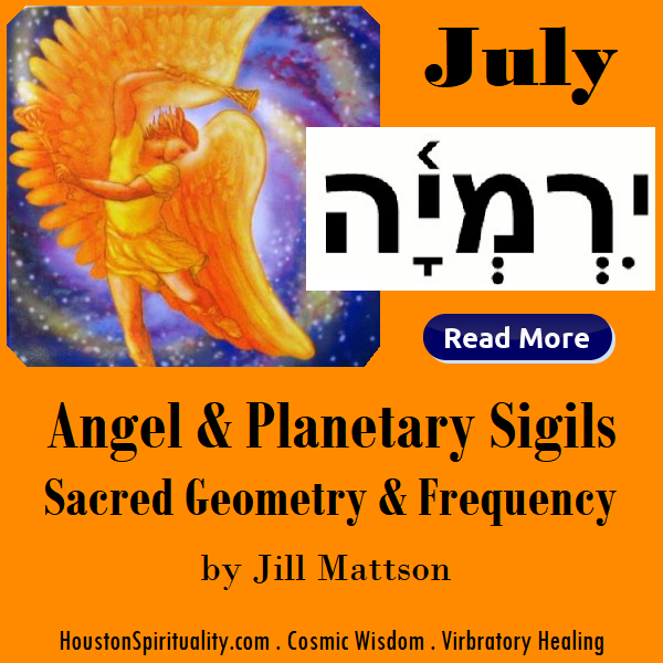 Angel & Planetary Sigils, Sacred Geometry & Frequency by Jill Mattson