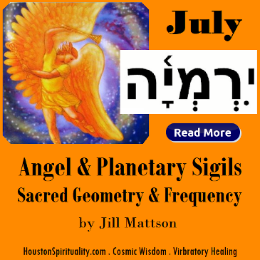 Angel  Planetary Sigils, Sacred Geometry & Frequency by Jill Mattson