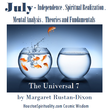 June has a rainbow for its aura by Margaret Rustan, Unicorn Wisdom