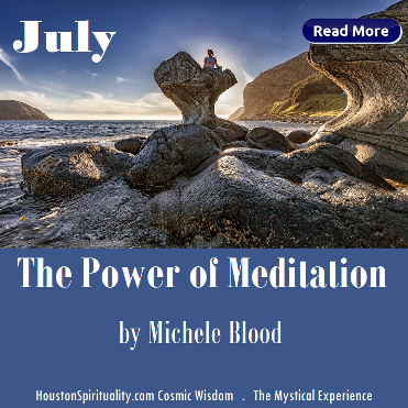 The Power of Meditation by Michele Blood