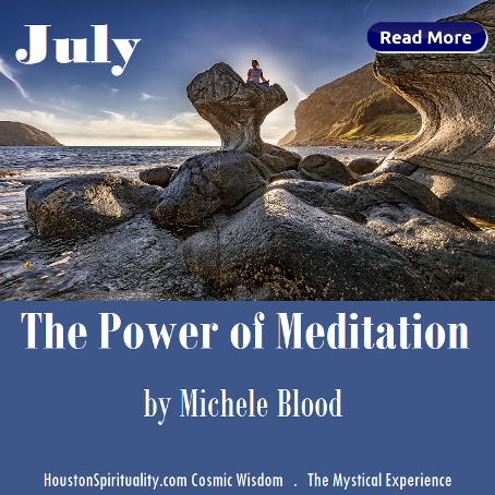 The Power of Meditation by Michel Blood