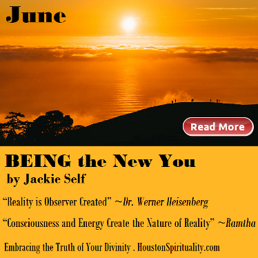 Being the New You by Jackie Self, Cosmic Wisdom HSM