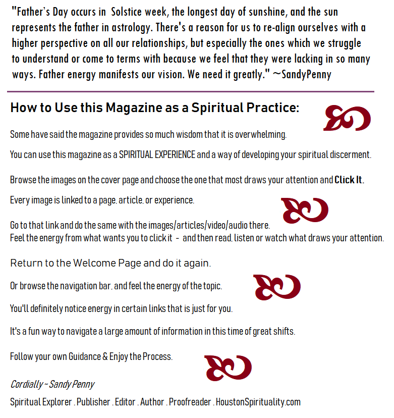 How to Use the Magazine as a Spiritual Practice
