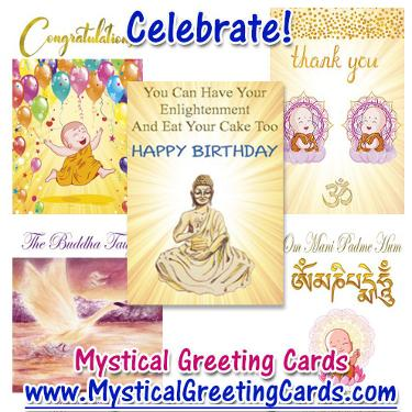 Mystical Greeting Cards by Michel Blood