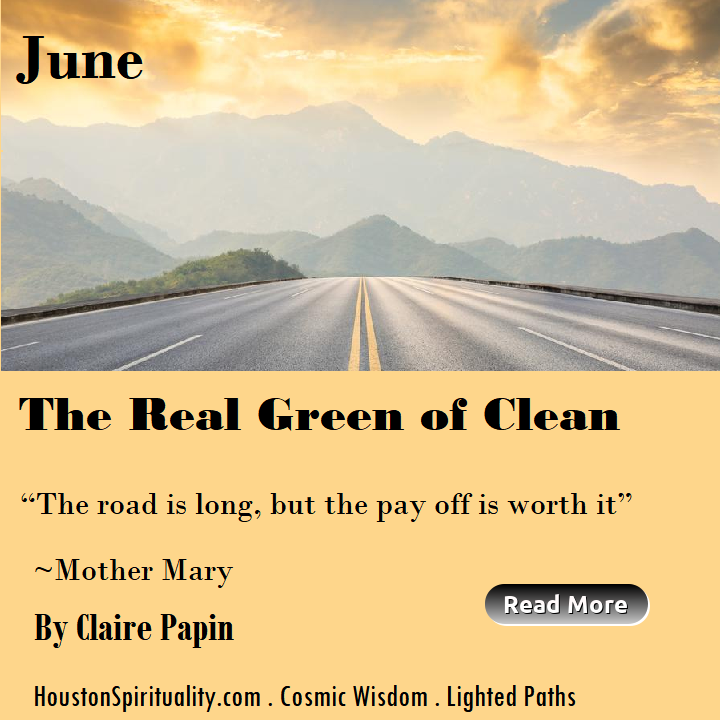 The Real Green of Clean  by Claire Papin