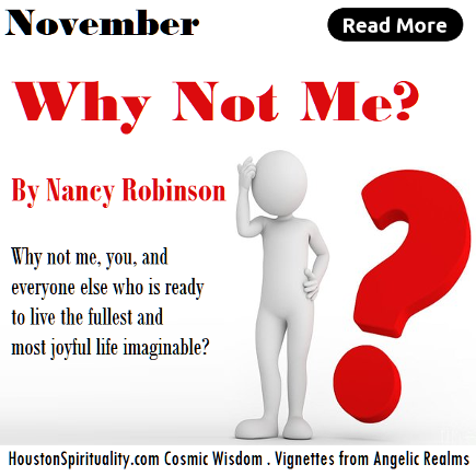 Why Not Me? by Nancy Robinson, Vignettes from Angelic Realms, HSM
