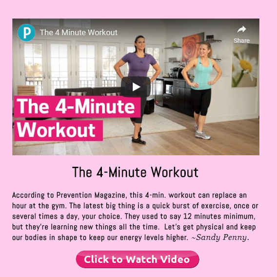 The 4-Minute Workout by Prevention Magazine