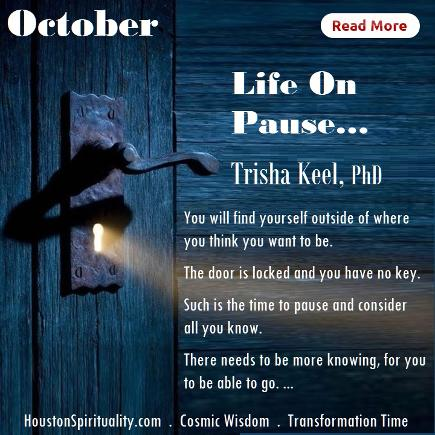 Life on Pause by Trisha Keel, Transformation Time, HSM October