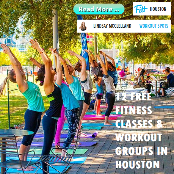 Free fitness classe and workout groups in Houston