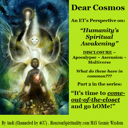 Dear Cosmos. Humanity's Spiritual Awakening Part 2. David/LE