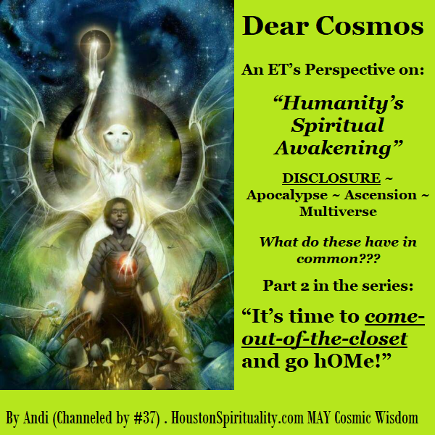 Ask the Cosmos, Cosmic Wisdom with David/LE