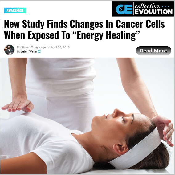 New study Finds Changes in Cancer Cells When Exposed to Energy Healing
