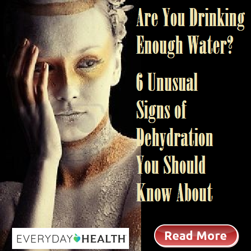 Are You Drinking Enough Water? Signs of Dehydration. Body. Houston Spirituality Mag