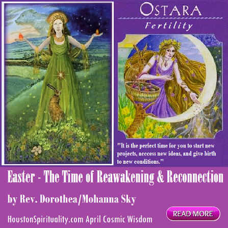 Easter - THe TIme of Reawakening & Reconstruction. Happy Ostara