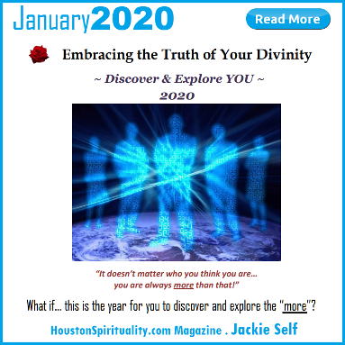 Discover and Explore you 2020. Jackie Self. HSM Cosmic Wisdom January 2020