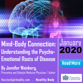 Mind Body Connection Healing Disease. Healthy Body. Houston Spirituality. 2020 January