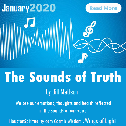 The Sounds of Truth by Jill Mattson, Wings of Light, HSM Jan 2020