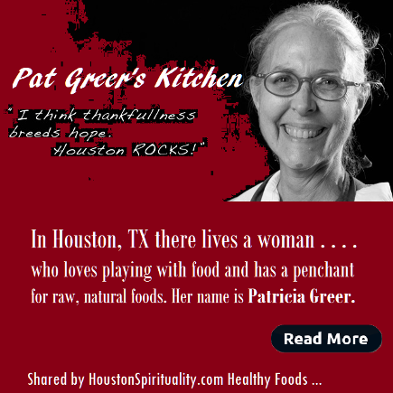 Pat Greer's Kitchen. Raw, vegan.