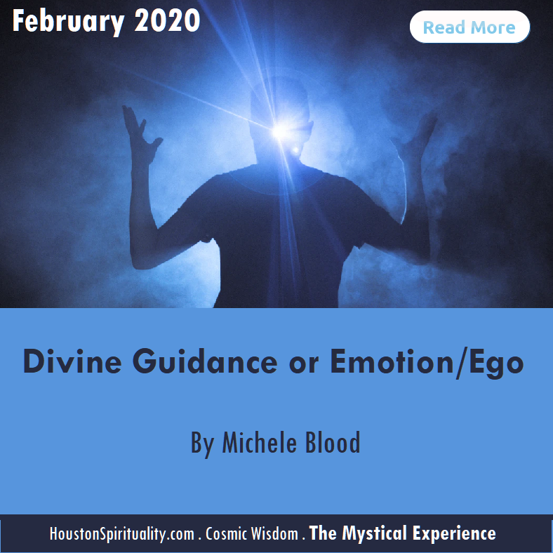 Divine Guidance or Emotion/Ego by Michele Blood