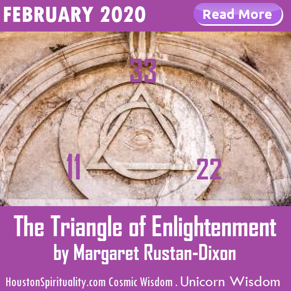 The Triangle of Enlightenment, February 2020, Margaret Rustan-Dixon