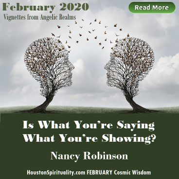 Is What You're Saying What You're Showing? by Nancy Robinson