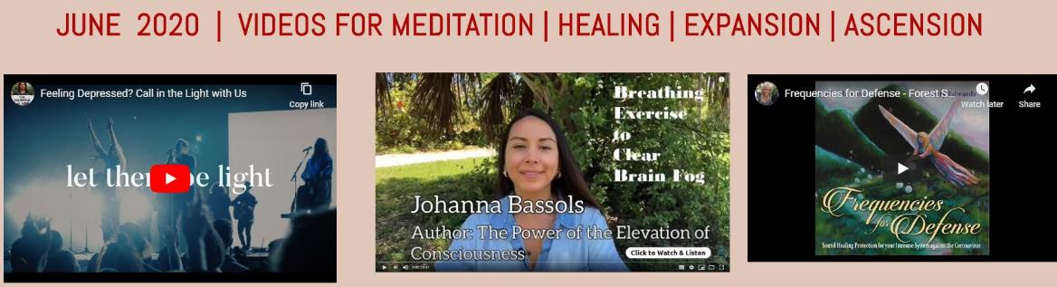Free Meditation Videos for JUNE