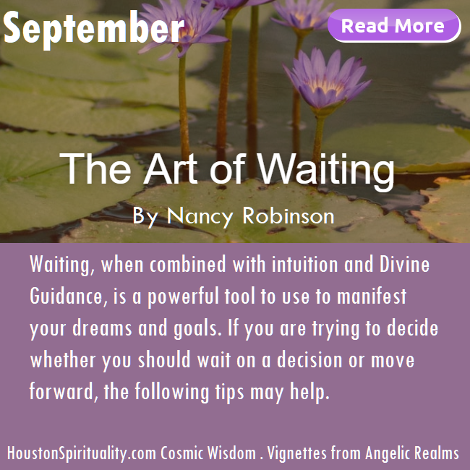 The Art of Waiting by Nancy Robinson