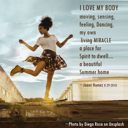 I love my Body by Joani Nunez