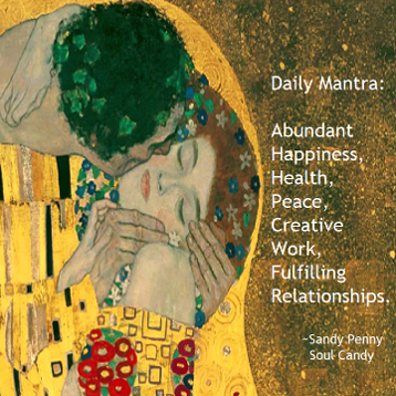 Daily Mantra by Sandy Penny