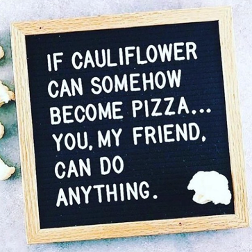 The cauliflower meme