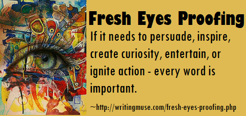 Every Author Needs Fresh Eyes - Proofing by Sandy Penny, Editor/Author/Proofreader
