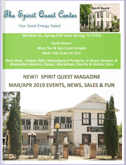 The Spirit Quest Magazine - March Ad