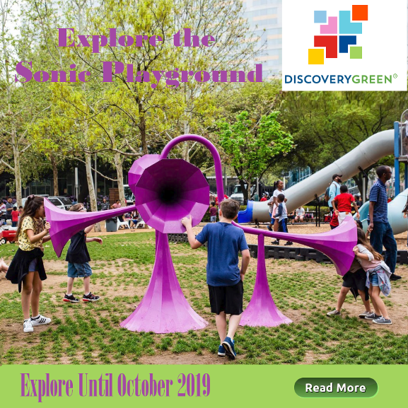 Explore the Sonic Playground, Discovery Green Park