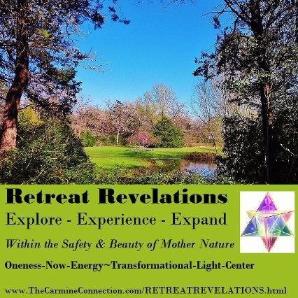 Retreat Revelations. Explore. Experience. Expand. The Safety & Beauty of Mother Nature.
