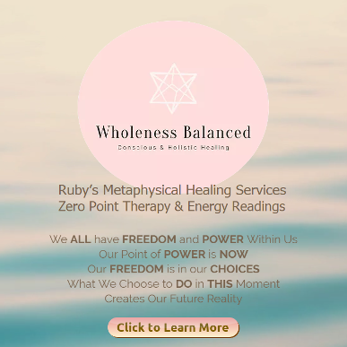 Wholeness balanced, Healing with Ruby