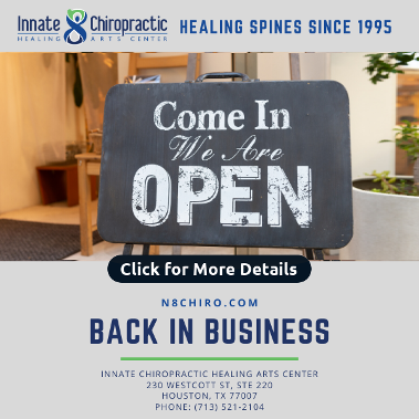 Innate Chiropractic is open for business.