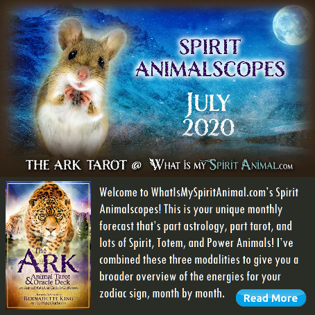 Ark Monthly Spirit Animal July Mouse