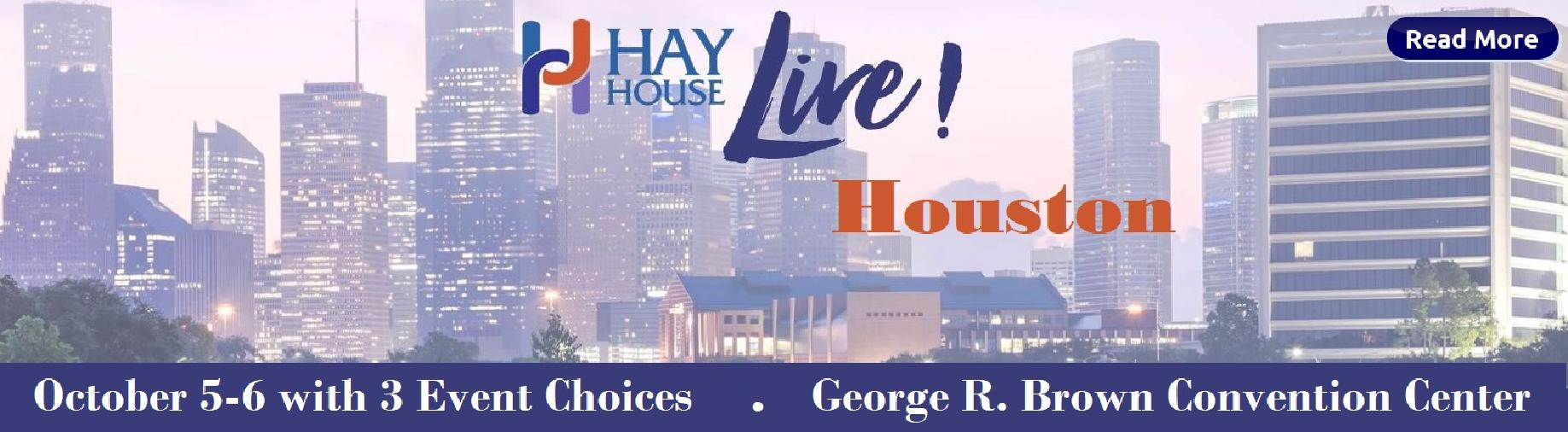 Register now for Hay House Live in Houston.