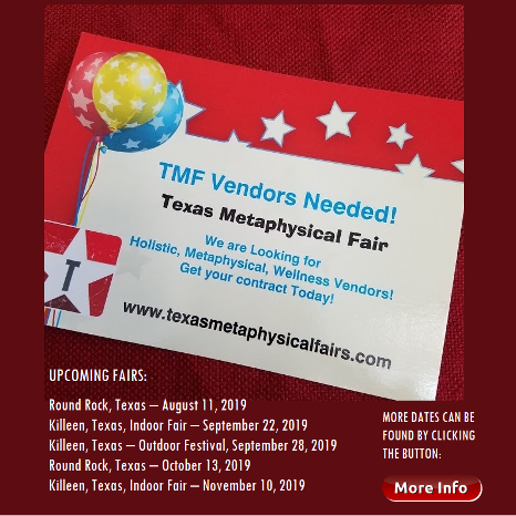 Learn more about Texas metaphysical Fairs