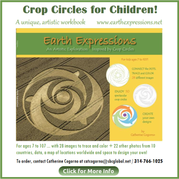 Read Catherine's Book Crop Circles for Children on HSM Feb