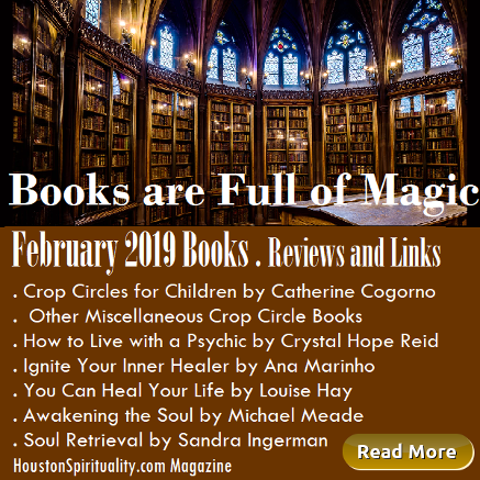 February 2019 Books, reviews & links, Houston Spirituality Mag