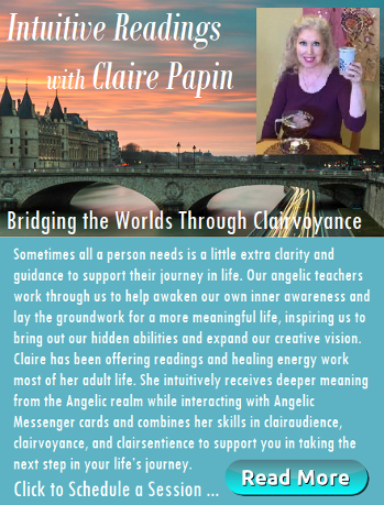 Intuitive Readings with Claire Papin. Houston Spirituality Magazine. Sometimes all a person needs is a little extra clairty and guidance to support their journey in life. Link to website
