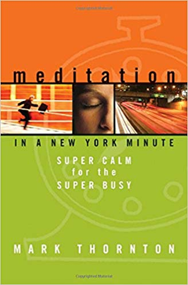 Meditation in a New York Minute by Mark Thornton. Get the Book.