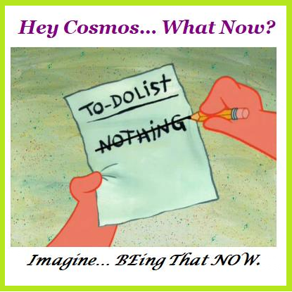 Hey Cosmos What Now?